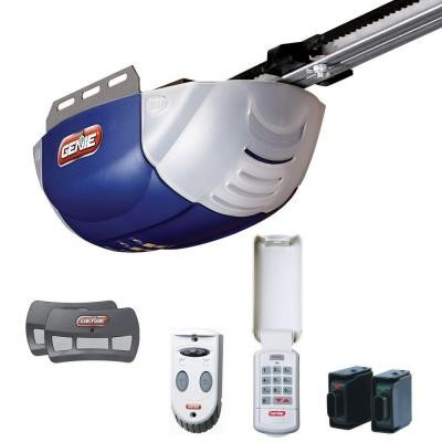 how to program clicker garage door opener genie