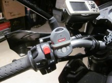 motorcycle built in remote