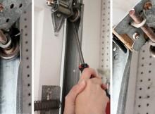 installing garage door rollers