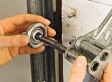 new garage door roller installation