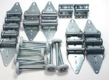 rollers, hinges and other parts