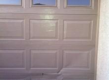 broken garage door panels