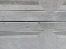 replace garage door panels
